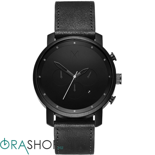 MVMT férfi óra - MC01BL - Chrono Black Leather