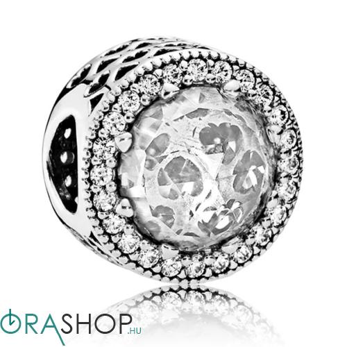 Pandora ragyogó szív charm - 791725CZ