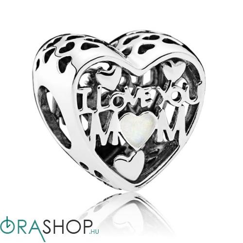 Pandora minden szeretetem az anyukámé charm - 792067EN23