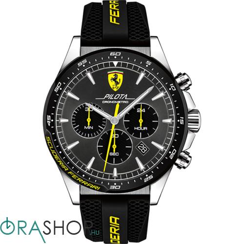 Scuderia Ferrari férfi óra - 0830594 - Pilota