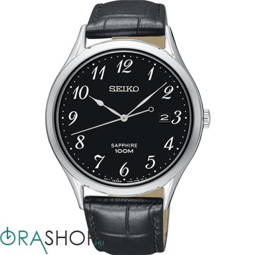 Seiko férfi óra - SGEH77P1 - Bőrszíjas férfi