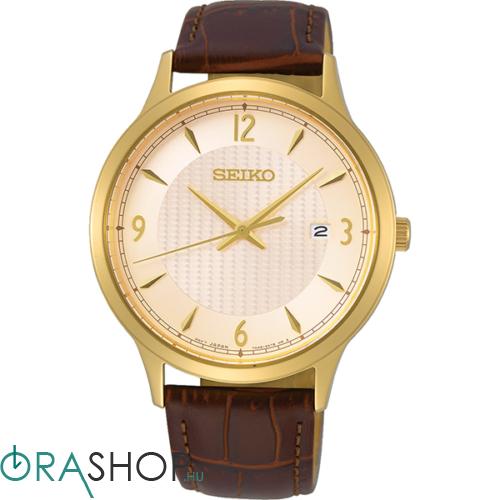 Seiko férfi óra - SGEH86P1 - Bőrszíjas férfi