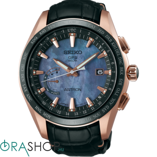 Seiko férfi óra - SSE105J1 - ASTRON GPS SOLAR WORLD-TIME NOVAK DJOKOVIC LIMITED EDITION