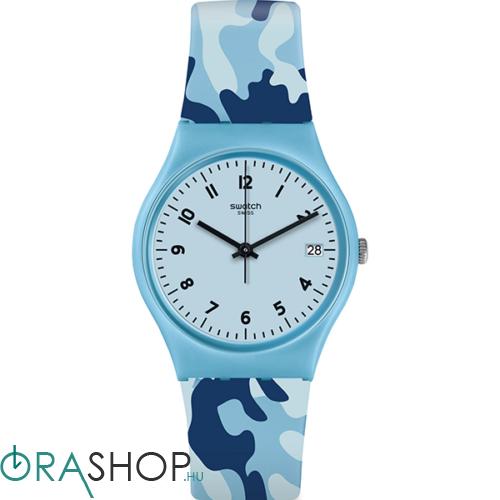 Swatch női óra - GS402 - Camoublue