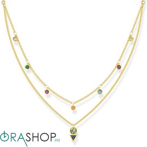 Thomas Sabo színes kövek nyaklánc - KE1844-993-7