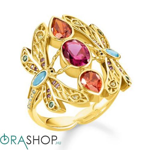 Thomas Sabo szitakötő gyűrű - TR2228-471-7