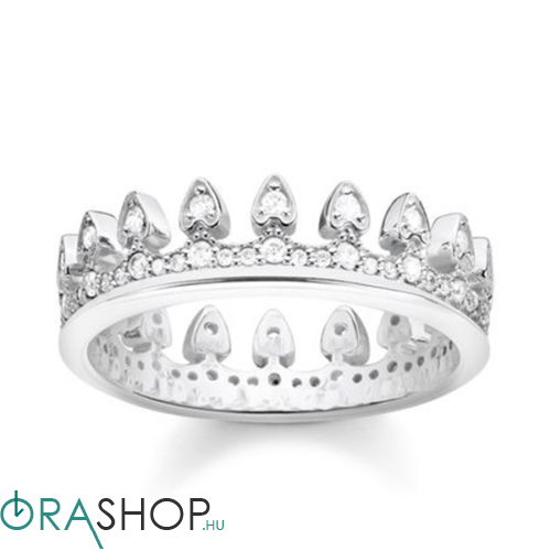 Thomas Sabo korona gyűrű - TR2235-051-14