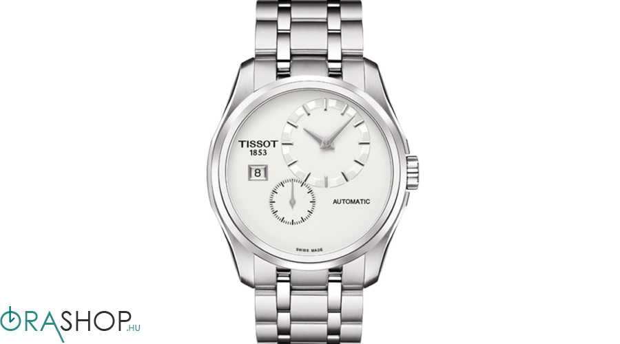 Kép 1 2 - Tissot férfi óra - T035.428.11.031.00 - Couturier Automatic Small  Second cf039fed46